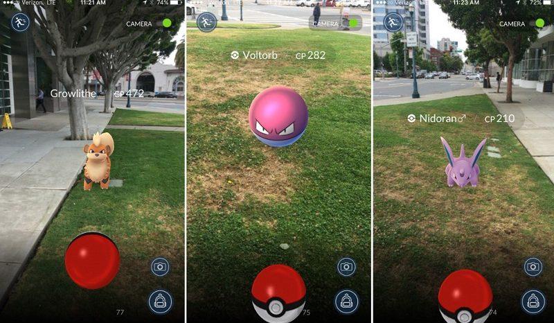 Pokémon GO e a cidade