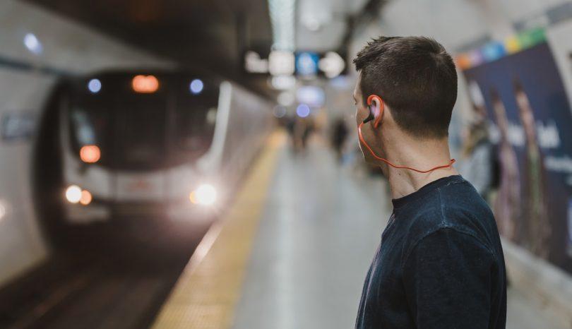 Logística para pessoas no metrô
