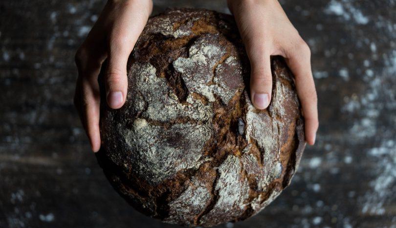 Um capítulo de um livro sobre pão e a produção de conteúdo na internet